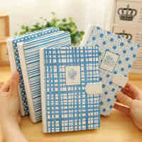 32K带扣笔记本韩国可爱手帐本创意日记本厚商务记事本子 学生文具用品