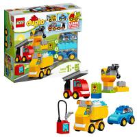 乐高得宝系列 10816 我的第一组汽车与卡车套装 LEGO 积木玩具