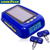 【GOODYEAR/固特异】太阳能无线胎压监测系统 内置胎压报警器 外置胎温胎压监测