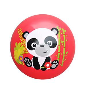 【当当自营】费雪FisherPrice 9寸宝宝拍拍球 婴儿玩具球幼儿园拍拍球玩具皮球(送打气筒)-红F0516-4