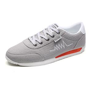 男鞋板鞋男士韩版男学生潮流平底百搭潮鞋运动休闲鞋新款跑步鞋