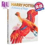 【中商原版】哈利波特 魔法史 展览之书 英文原版 Harry Potter A History of Magic Bo