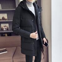 男士新款冬季棉衣男士中长款羽绒棉服韩版潮流大码加厚棉袄外套DJDS216.