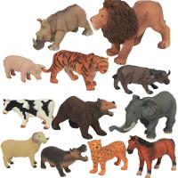 侏罗纪世界大号仿真恐龙霸王龙动物玩具塑胶模型套装儿童发声男孩