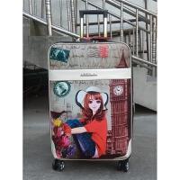 行李箱软箱拉杆箱女密码箱韩版万向轮小清新大学生大容量个性皮箱