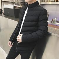 棉衣男士冬季保暖新款立领男装短款棉袄外套韩版潮流帅气大码棉服DJ935