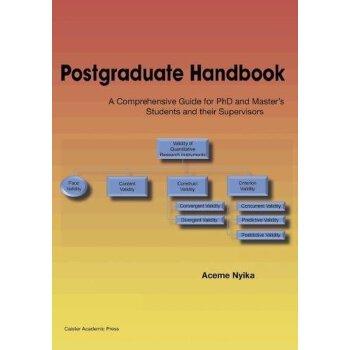 【预订】Postgraduate Handbook: A Comprehensive Guide for PhD and Ma... 9781910190753 美国库房发货,通常付款后3-5周到货!