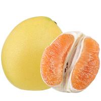 【包邮】平和�g溪柚子黄金蜜柚当季新鲜水果两个装约4.8斤左右