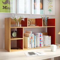 亿家达 简易书架桌上置物架学生桌面置物架创意书架经济型小架子
