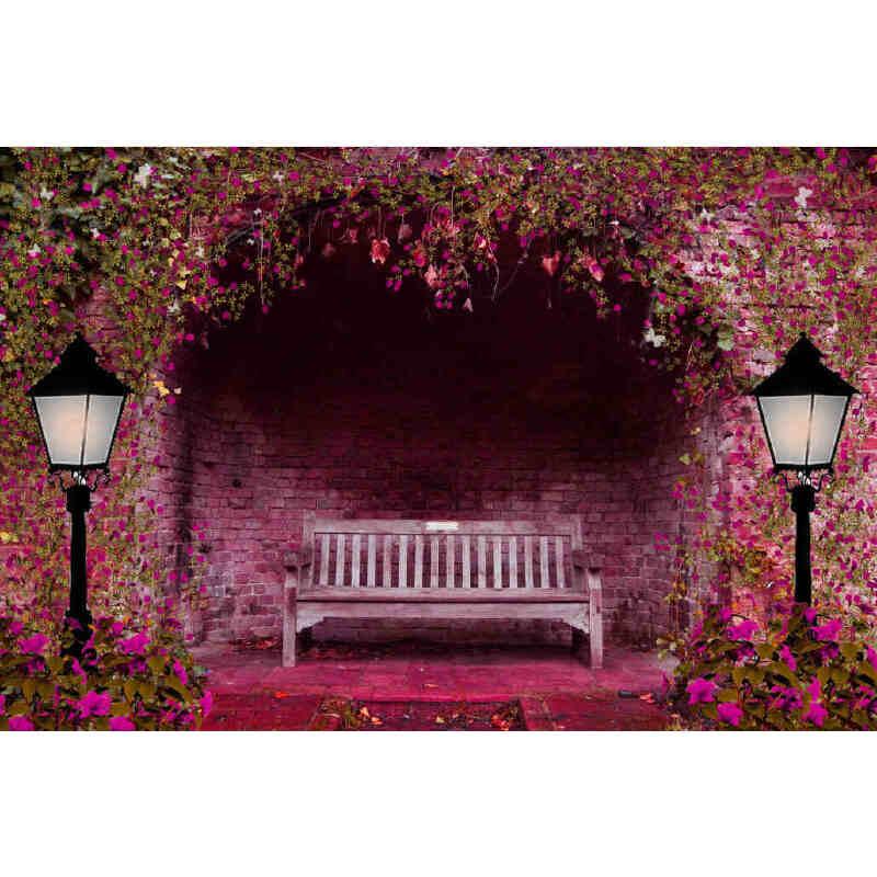 成人1000片木质拼图1500智力浪漫唯美情侣礼物 幸福长椅