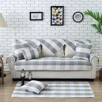 四季沙发垫套装全棉沙发垫坐垫 昔日晨光