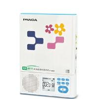赠16G优盘!熊猫 F-385CD机随身听插卡充电锂电池MP3复读机便携播放器 CD复读机