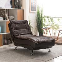 休闲沙发床新款科技布皮懒人沙发躺椅单人贵妃小户型客厅休闲折叠午休沙发床