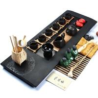 尚帝 藏玉乌金石-(龙图腾)紫砂茶具茶盘套装XMBH2014-037A1