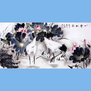 中国青年美术家协会常务理事,中国扇子艺术学会会员,中国山水画院专业画家,山东美术家协会会员,国家一级美术师高云鹏(一团和气)
