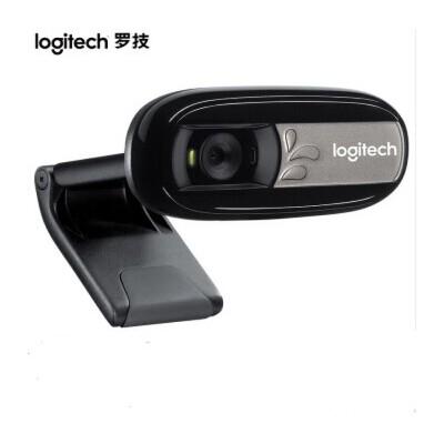 罗技(Logitech)C170高清晰网络摄像头黑色 支持500W像素
