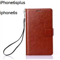 苹果6/6s手机壳翻盖式iphone6plus手机套5s/se/4s保护真皮套男5.5