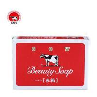 日本COW BRAND/牛牌美肤香皂滋润型 玫瑰花香牛奶滋润皂