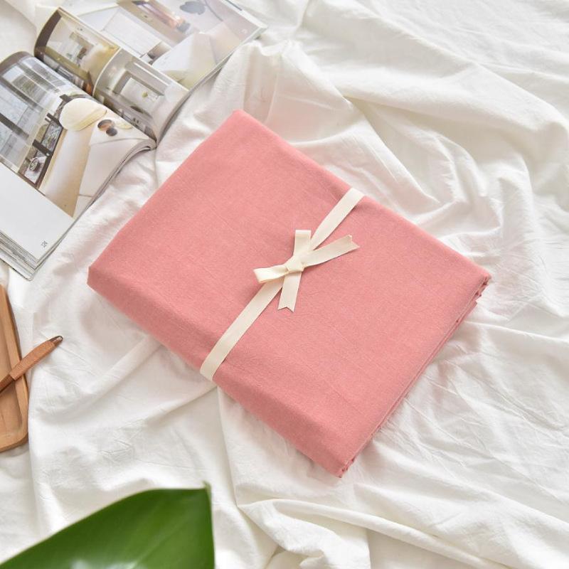 商场同款日系水洗棉床笠床单单件席梦思床垫保护套棉1.5/1.8棉色质量媲美慕斯喜临门顾家