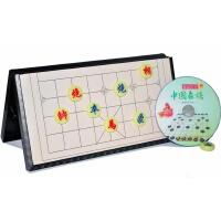 大号正品象棋 折叠磁性桌 雕刻型磁性棋子送教材