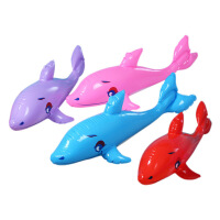 夏天儿童卡通PVC加厚加大充气动物气模大象狮子造型戏水洗澡玩具AE00331