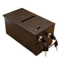 德州扑克道具 21点 百家乐专用 铁制钱箱 投币箱 抽水箱