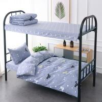 床单三件套棉纯棉床上用品被套女员工宿舍学生被子床褥子两件套