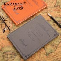 欧式复古风本子文具笔记本加厚日记本韩风创意记事本小清新手账本