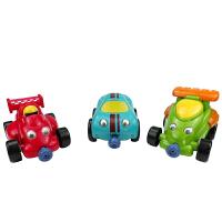 【当当自营】宝乐童益智玩具男仔迷你赛车(男仔版)2-6岁儿童玩具车套装6891A