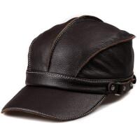 帽子女士秋冬棒球帽帽子男潮牛皮帽子时尚休闲鸭舌帽