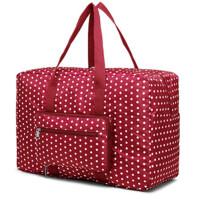 手提折�B旅行包收�{袋 旅游行李包整理袋牛津布防水