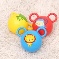 费雪婴幼儿手抓球皮球3-6-12个月新生儿宝宝摇铃婴儿玩具0-1岁F0602