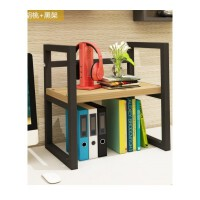 创意桌上书架简易桌面小书柜办公室置物架打印机架简约收纳架
