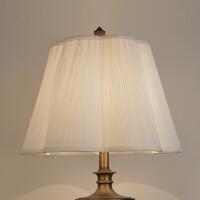 灯罩外壳配件布艺米白色落地台灯圆客厅卧室田园床头美式欧式创意