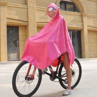 山地车骑行单车学生电动自行车雨衣电动车电瓶车雨披单人男女 X