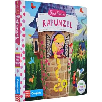 《长发公主 英文原版 First Stories:Rapunzel 童