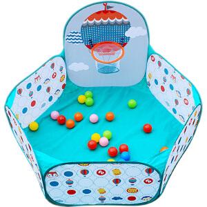 【当当自营】费雪海洋球池宝宝玩具儿童帐篷游戏屋围栏波波池投篮球池F0316
