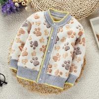 春秋装男童绒衣装婴儿宝宝绒衫打底衫内衣女童加绒保暖外套