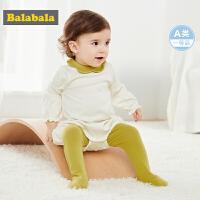 巴拉巴拉女童秋装套装婴儿衣服0-1岁宝宝两件套2019新款可爱洋气