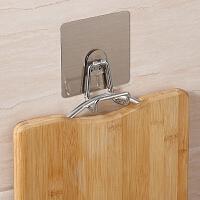 双庆砧板挂钩吸盘式门后粘钩厨房菜板挂钩案板挂钩衣帽架免钉壁挂