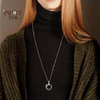 银毛衣链长款女韩国个性简约百搭时尚大气秋冬毛衣挂件配饰项链