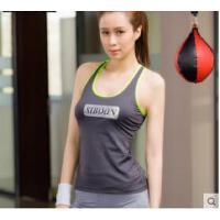 韩系瑜伽服上衣新款瑜伽背心女带胸垫专业运动背心吸汗透气