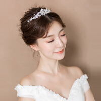 皇冠头饰新娘日韩式公主甜美水钻发饰婚纱礼服结婚配饰品