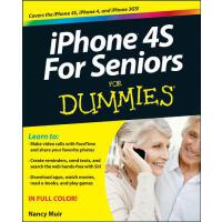 【预订】Iphone 4S for Seniors for Dummies 9781118209615