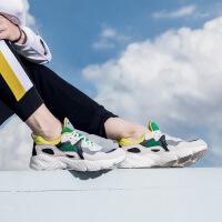 【1件6折 2件5折】特步运动鞋男鞋老爹鞋男正品休闲鞋2019新款春鞋子男士跑步鞋882419329558