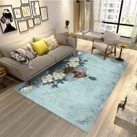 地毯客厅北欧式茶几垫现代简约ins几何家用美式长方形创意地毯