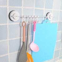 韩国进口 真空吸盘挂钩 厨房浴室门后挂衣钩 厨房挂件 壁挂挂钩排钩