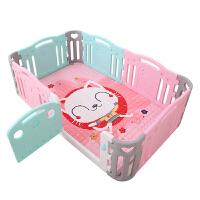 围栏儿童游戏室内游乐园婴儿爬行垫宝宝家用安全学步护栏玩具栅栏