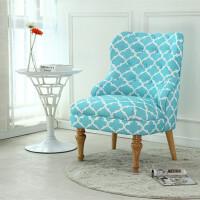 美式沙发卧室沙发简约现代单人沙发阳台咖啡厅客厅书房布艺小沙发