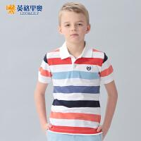 英格里奥童装夏装男童短袖T恤儿童短袖T恤LLB9412